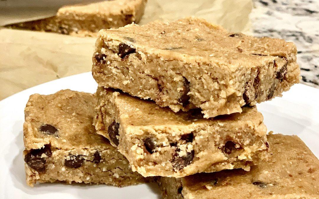 Vegan Cookie Dough Squares