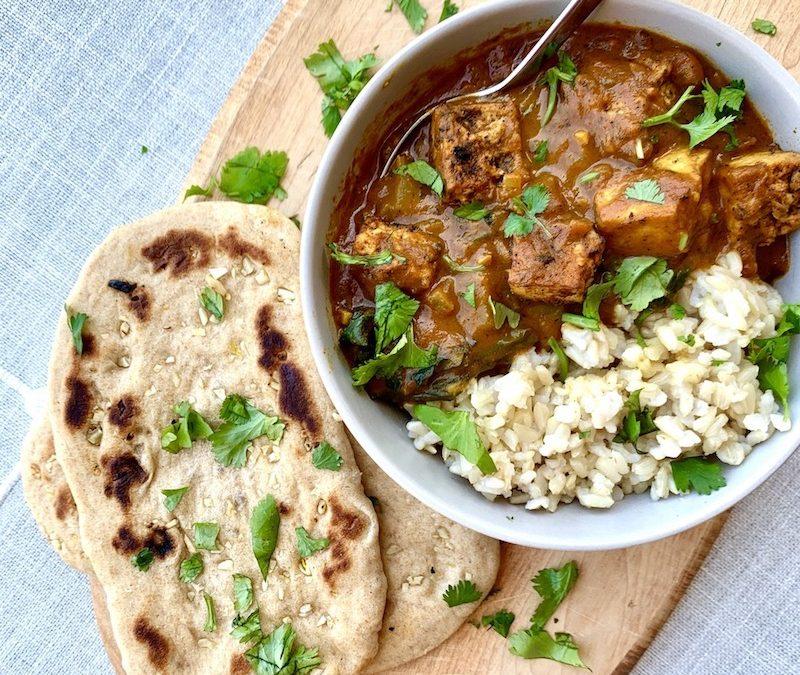 Vegan Chicken Tikka Masala